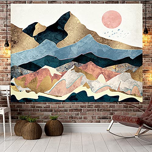 XGguo Tapestry The Tapestry Wall Hanging Tapestries Home Decor Wall hanging decoration cloth sunset hills