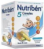 Nutribén Papilla 5 Cereales - Gr, Pap 5 Cereales 600G