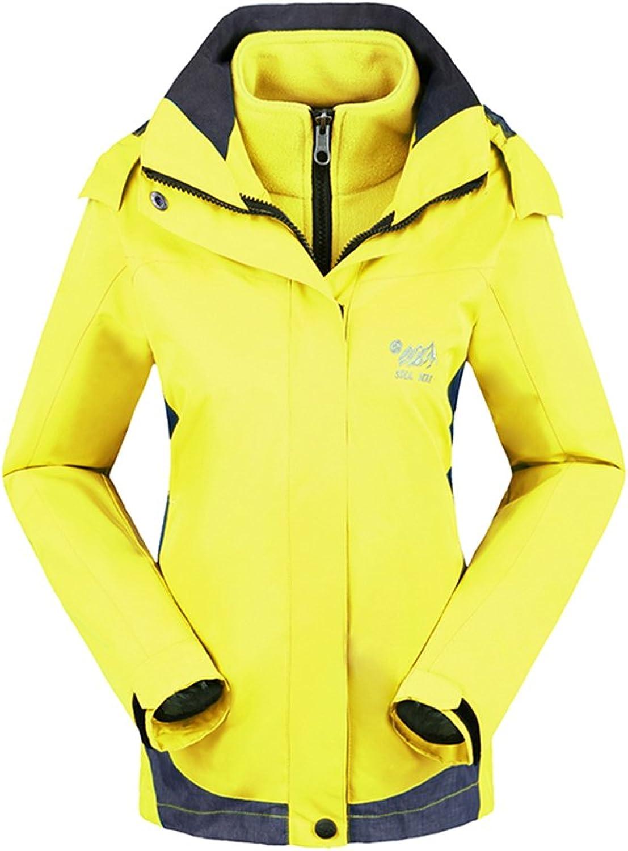 Topway Womens 3in1 Inner Fleece Warm Jacket Soft Causal sports Breathable Coat