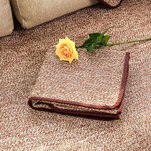 Jonist Funda de Lino para sofá, Jacquard Simple y Elegante para Sala de Estar, Funda Antideslizante para Muebles, Shield-G-110X240cm