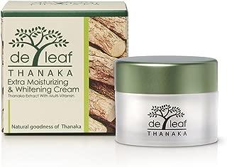 De Leaf Thanaka Moisturizing & Whitening Cream Extract with Multi-vitamin 1.5 Oz/45 G