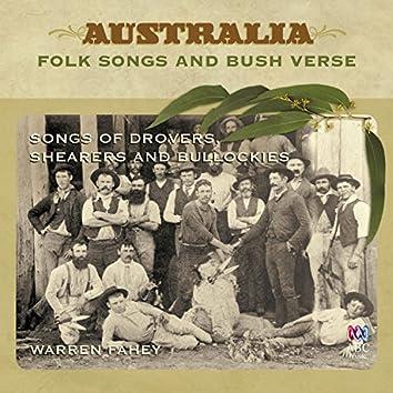 Songs Of Drovers, Shearers And Bullockies