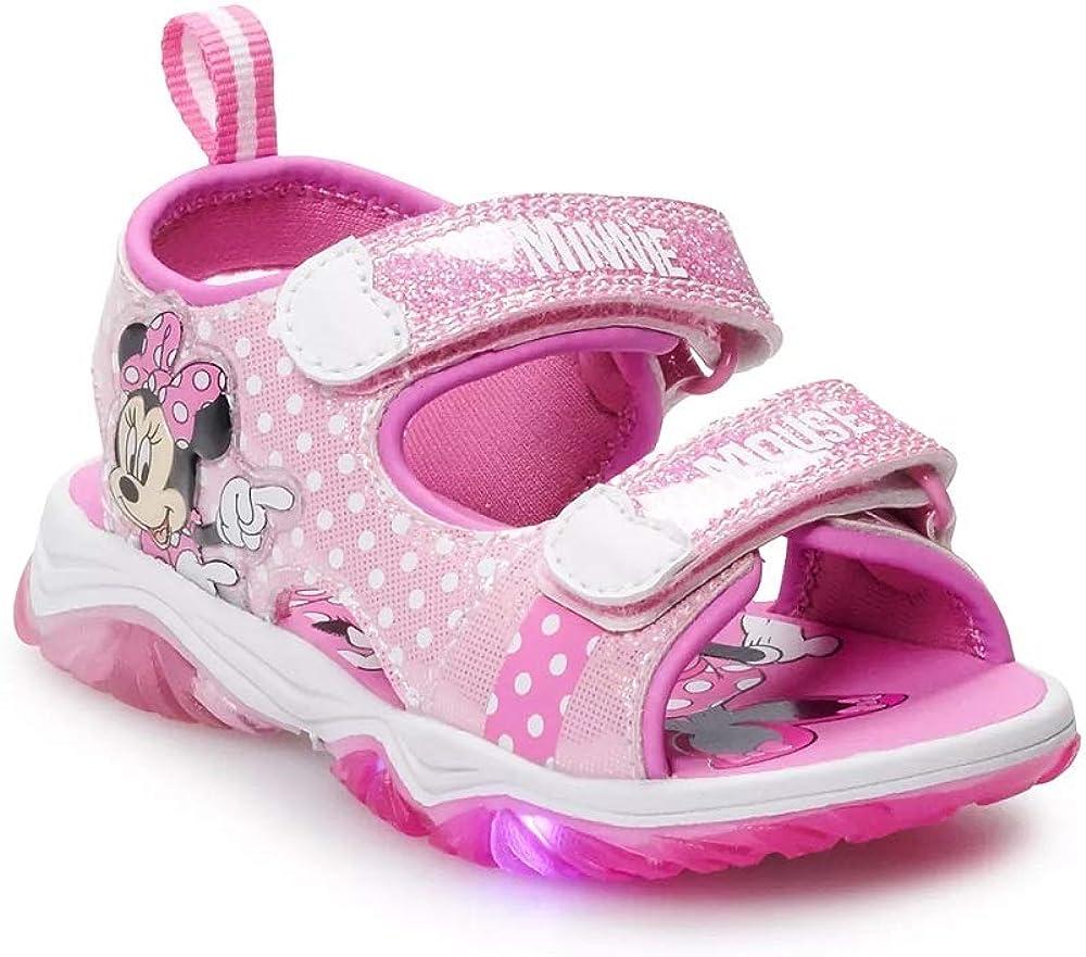 Disney's Minnie online shop Long Beach Mall Mouse Toddler Sandals Girls' Lighted