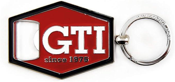 Brisa Vw Collection Volkswagen Gti Schlüssel Anhänger Flaschenöffner Geschenk Idee Fan Souvenir Retro Vintage Artikel Rot Bekleidung