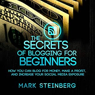 The Secrets of Blogging for Beginners cover art