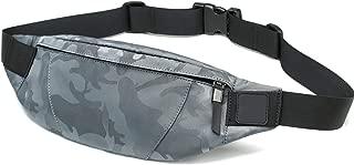 Waist Bag Money Phone Belt Bag Pouch Camouflage Black Gray Bum Hip Bag Shoulder belt pack,camo grey