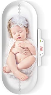 Baby Scale,Pet Scale,Infant Scale Digital,with Height Tray(Max: 27.5in/70cm) Measure Weight Accurately(Max: 220lb), Perfect for Toddler/Puppy/Cat/Dog/Adult