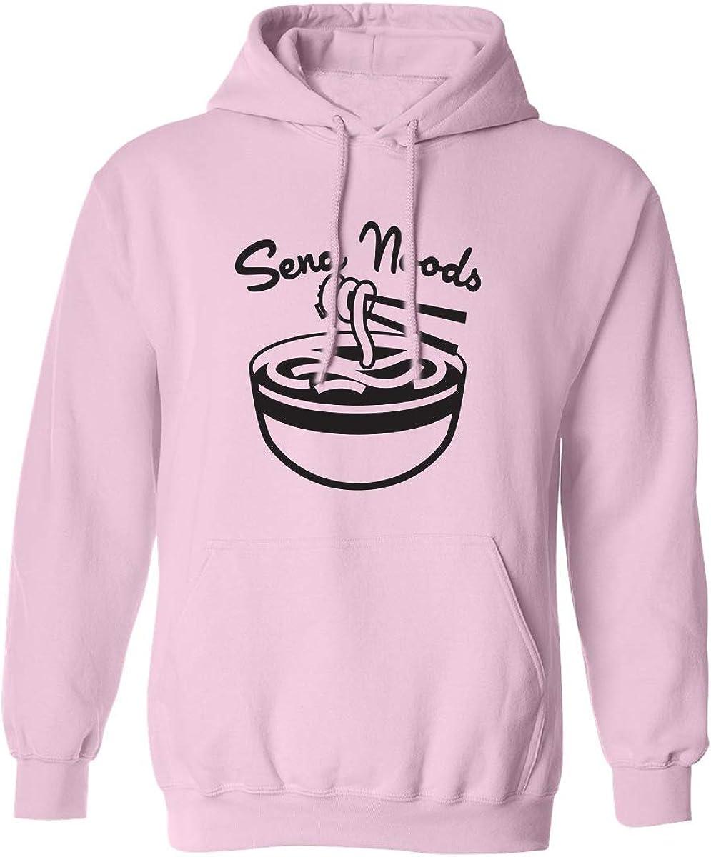 zerogravitee Send Noods Adult Hooded Sweatshirt