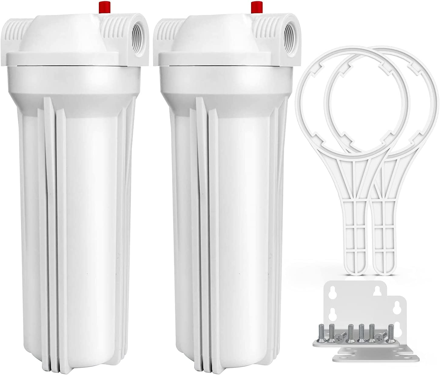 SimPure Whole House Water Filter Housing Max 81% OFF 2.5