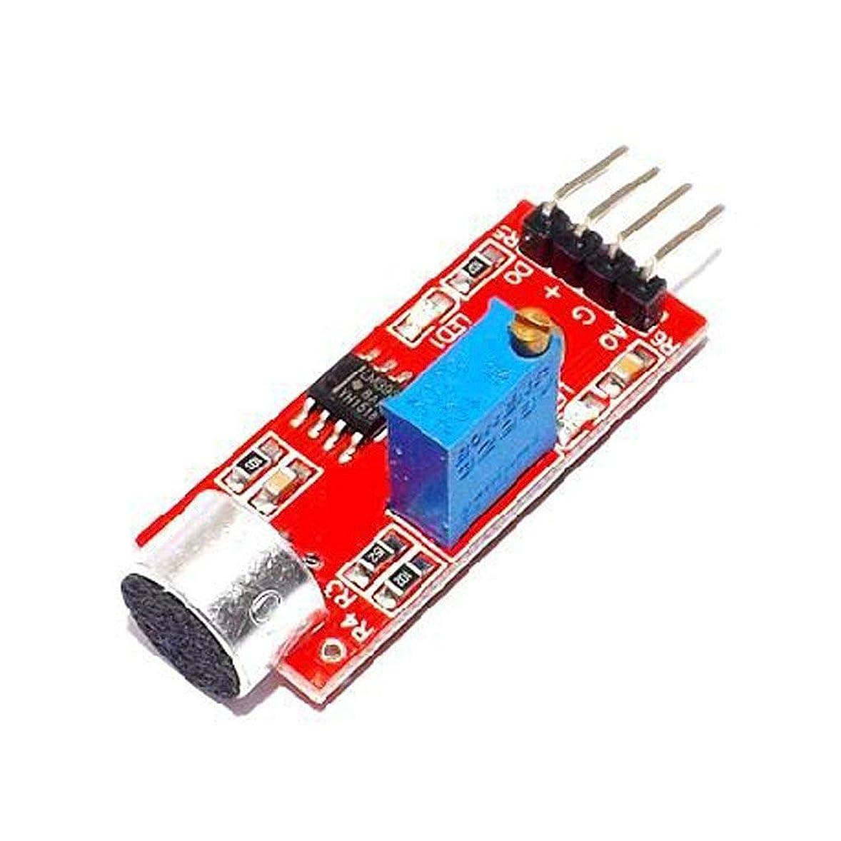 アルコール期限聖職者KOROWA 高い感応度マイクセンサーモジュール マイクセンサモジュール 高い感応度 オリジナル 音声検出 音声検出モジュール マイクロホンセンサー サウンドセンサー マイク検出モジュール 高感度 サウンド 20dB 3.3V / 5V マイク...