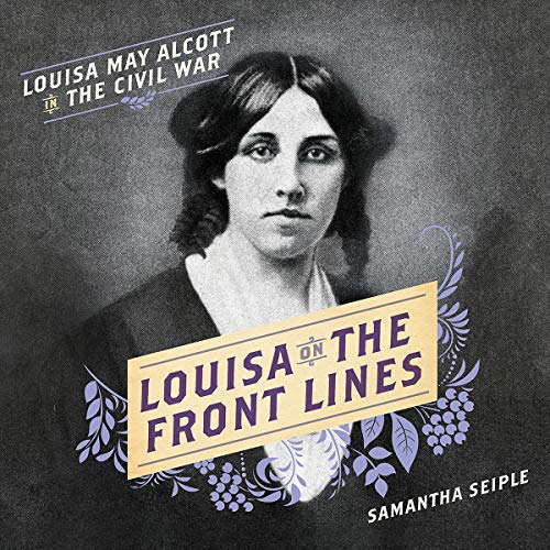 Louisa on the Front Lines audiobook cover art