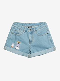Her Universe Studio Ghibli Earth Day Collection My Neighbor Totoro Totoro's Friends Girls Mom Shorts