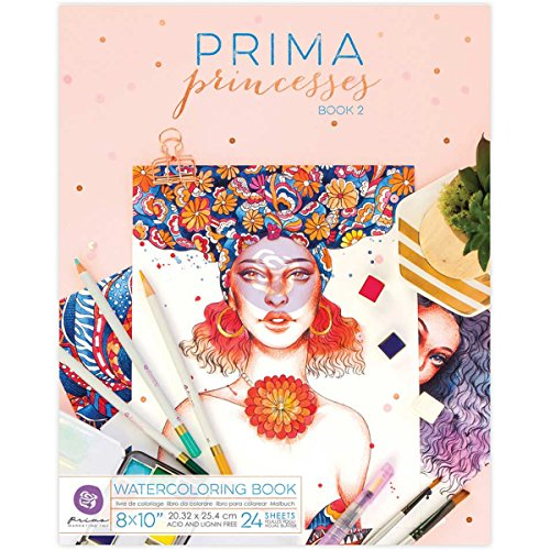 Prima Marketing Prima Princesses Book Vol 2