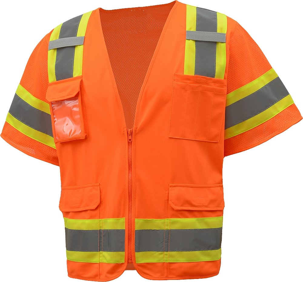 ERB Seasonal Wrap Max 87% OFF Introduction Safety 65046 S680 Class Polyester 3 Solid Vests Mesh