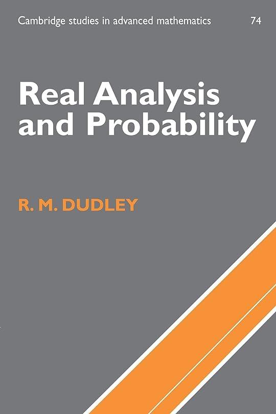いらいらさせるプレート所持Real Analysis and Probability (Cambridge Studies in Advanced Mathematics)