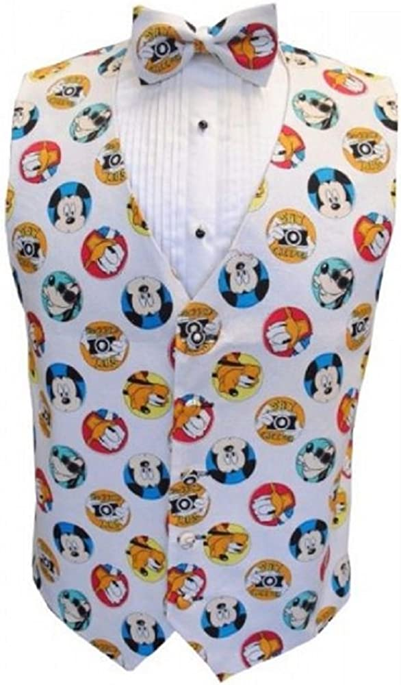 Mickey Mouse and Friends Tuxedo Vest and Bow Tie