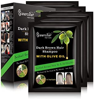 Swazrstar Hair Shampoo (Dark Brown)