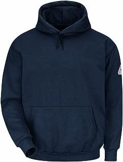 Bulwark Flame Resistant 11 oz Modacrylic Fleece Pullover Hooded Sweatshirt