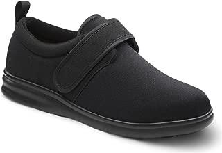 Women's Marla Black Stretchable Diabetic Casual Shoes