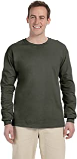 Gildan Men's Ultra Long Sleeve Rib-Knit Cuffs T-Shirt