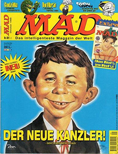 MAD Comic Magazin (Satire) # 1: DER NEUE KANZLER (Alfred E. Neuman)