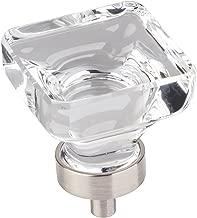 Jeffrey Alexander G140L-SN Harlow Collection Knob, Satin Nickel