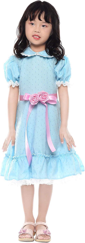 SHANSHAN Grady Twin Cosplay Dress Halloween Costume Women Girl Blue Lolita Dress