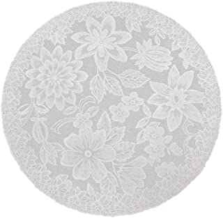 Linker Wish Paper Doilies White Round Lace Paper Doilies/Doyleys,Vintage Coasters/Placemat Craft