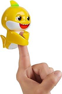 WowWee Pinkfong Baby Shark Fingerlings - Baby Shark - Preschool Interactive Toy