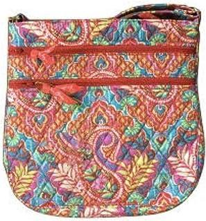 Vera Bradley Triple-Zip Hipster Cross-Body Bag