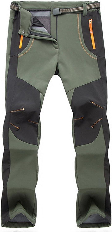 TBMPOY Men's Max 63% OFF Snow Ski Waterproof Hiki Fleece Pants Popular Outdoor Lined