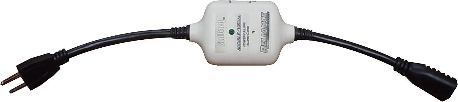 Reliance Controls Large-scale sale THP111 SoniCord Alarm Power Cord New product! New type Failure