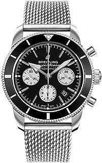 Breitling Superocean Heritage II B01 Chronograph 44 Black Dial Men's Watch AB0162121B1A1