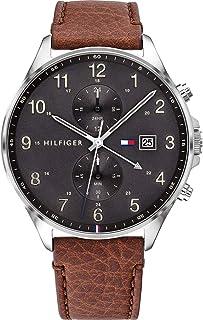 Tommy Hilfiger Reloj para de Cuarzo con Correa en Cuero 1791710