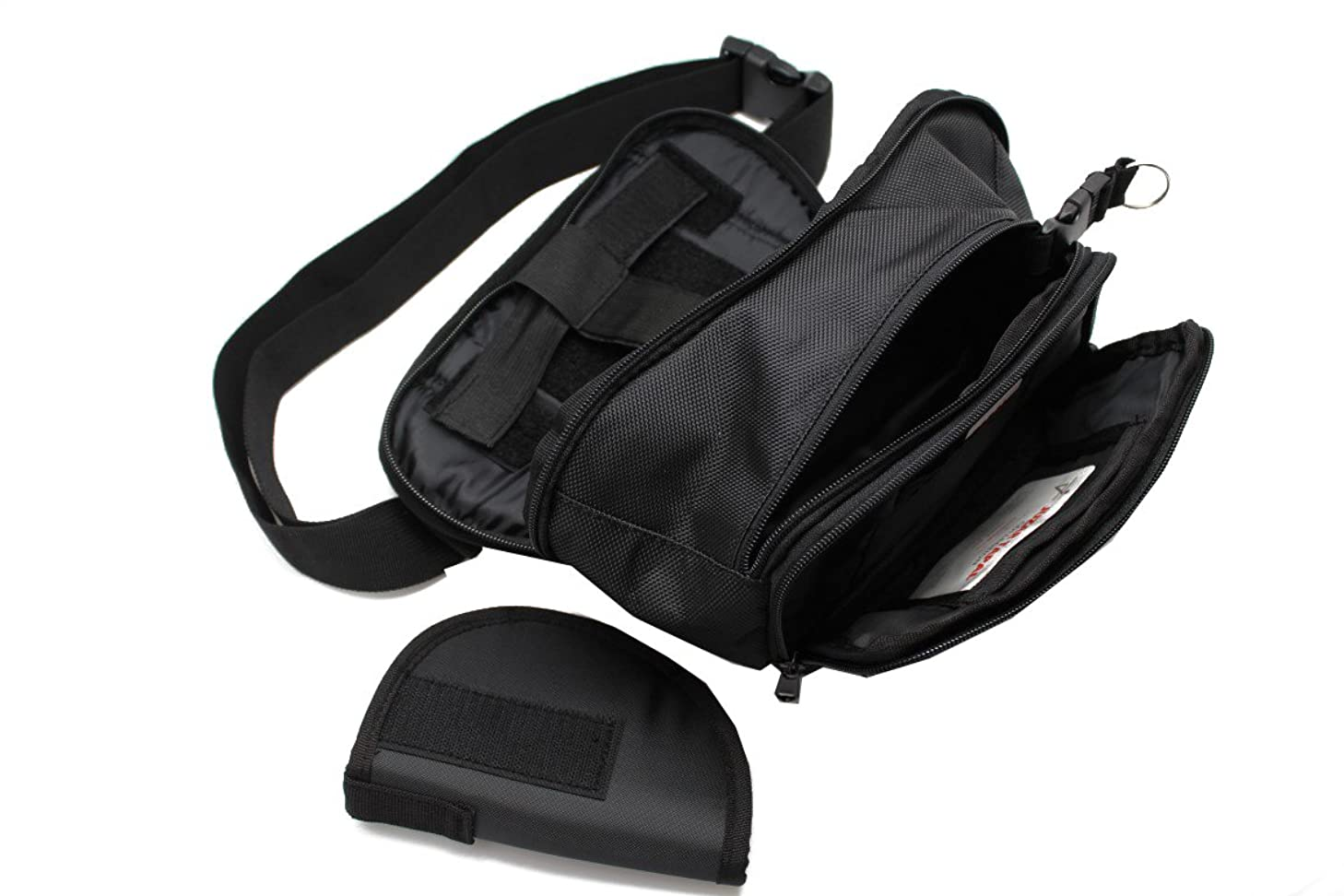 Juzar Tapal Collection Tactical Pistol Concealment Fanny Pack CCW Concealed Carry Gun Pouch