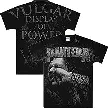 Pantera Vulgar Display Of Power All Over Men's T-Shirt + Coolie (L)