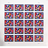 Love 2021 Forever Postage Stamps Sheet of 20 US Postal First Class Valentine Wedding Celebration Anniversary Romance Party (20 Stamps)