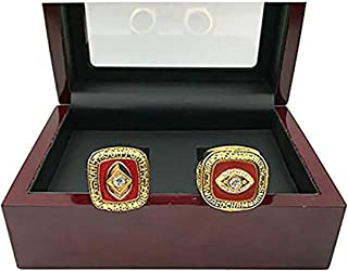 HASTTHOU Replica Championship Ring for Kansas City Chiefs Set Gift Fashion Gorgeous Collectible Ring