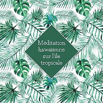 Méditation hawaïenne sur l'île tropicale