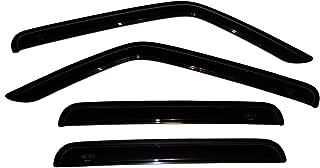 Auto Ventshade 94359 Original Ventvisor Side Window Deflector Dark Smoke, 4-Piece Set for 2007-2018 Jeep Patriot