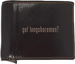 got longshoremen? - Soft Cowhide Genuine Engraved Bifold Leather Wallet