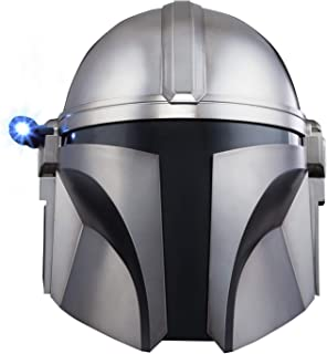 Star Wars The Black Series The Mandalorian Premium Electronic Helmet Roleplay Collectible, Toys for Children Aged 14 and Up