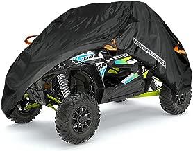 NEVERLAND UTV Cover,190T Waterproof Material for Polaris Ranger Yamaha WOLVERINE Honda Kawasaki Teryx Textron Off Road Wildcat 2-3 Passenger