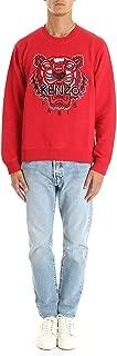 Kenzo Mens 5SW001 Sweatshirt in Red