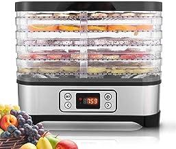 GWFVA Déshydrateurs pour Aliments et saccadés avec minuterie numérique réglable et contrôle de la température, déshydrateu...
