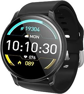 CWBB Relojes Inteligentes Rastreador de Ejercicios Mujeres SmartWatch Modo multideportivo Monitor de oxígeno y sueño sanguíneo