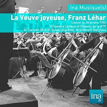 La Veuve joyeuse, Franz Léhar, O. Lyrique et Choeurs de la RTF - M. Cariven (dir)