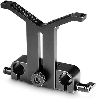 SmallRig レンズサポート レンズサポートプラケット レンズサポートシステム 交換レンズアクセサリ 直径50mm-140mmレンズ対応 15mmロッドクランプ装備-1784