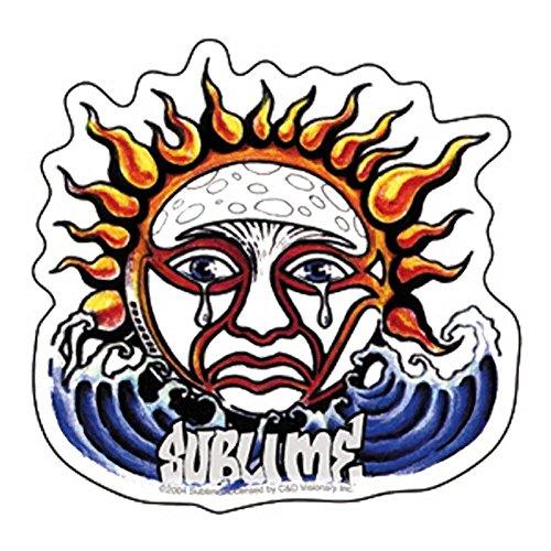 SUBLIME Hueping Sun STICKER, Officieel gelicentieerde producten Cross-Platform CLASSIC ROCK Artwork, Lange levensduur voor elke Surface Sticker DECAL
