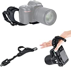 JJC Deluxe Camera Hand Strap with Quick Release Plate for Nikon Coolpix P1000 P900 B700 B500 Panasonic Lumix FZ80 FZ300 FZ1000 II FZ2500 Canon PowerShot SX70 SX60 HS Sony HX400V HX300 H400 H300 & More
